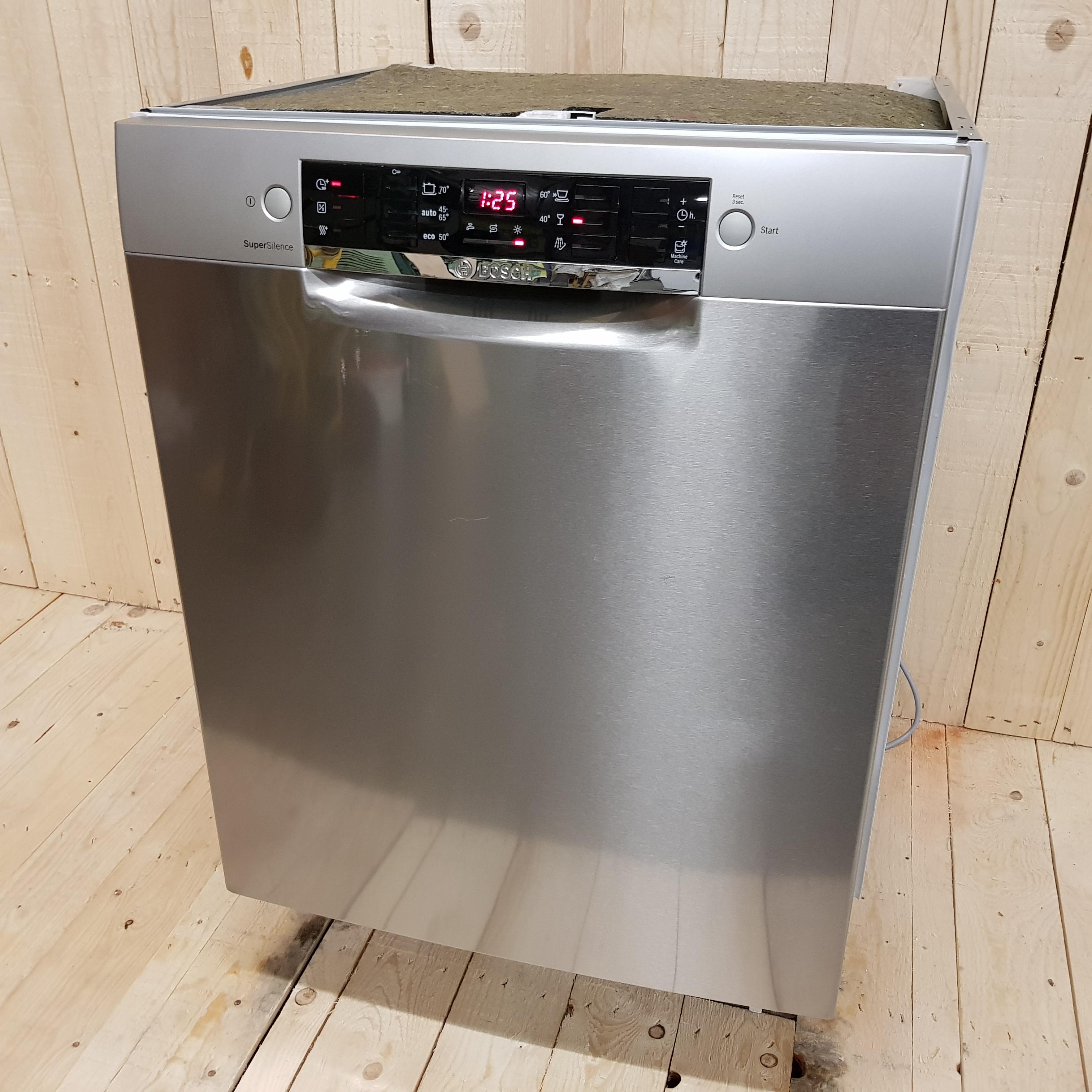 bosch opvaskemaskine vasker ikke rent