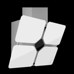 """Frecan Fortune Recta 90 -vertikal emhætte """"blomst"""" (demo/nyt produkt)"""