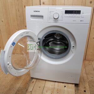 Siemens iQ100 vaskemaskine WM14E477DN/62 *Energiklasse: A+ *Vaskekapacitet: 5,5 kg *Centrifugering: 1400 *Lydniveau, vask: 59 dB