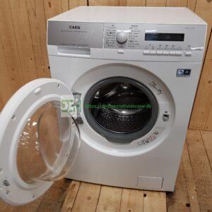 AEG kombi vaskemaskine og tørretumbler L76684NWD *Vask: 8 kg Tør: 4 kg *Energiklasse A *1600rpm *Lydniveau v/vask 51db