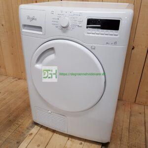 Whirlpool kondens tørretumbler AZAHP8673 *8kg *A+ *Lyd Niveau  69db