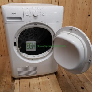 Whirlpool 6TH SENSE  kondens tørretumbler AZAHP7670 *7kg *A+ *Lydniveau 69db