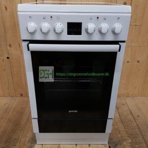 Gorenje keramisk Komfur EC57366AW *Energiklasse A *Ovnrum: 53 liter *Lydniveau: 50dB