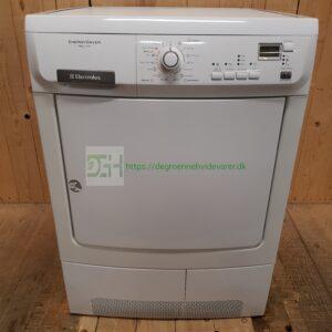 Electrolux Varmepumpe kondens tørretumbler EDH97951W *7 kg *A-40% *Lydniveau 67dB