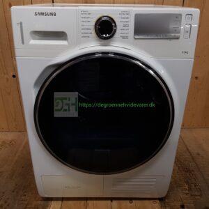 Samsung kondens tørretumbler DV90H8000HW-EE SoftCare-tromle *9kg *A++ *Lyd Niveau 65db