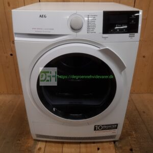 AEG kondens tørretumbler T6DEL821G ProSense *8kg *Energiklasse: B *Lydniveau 65db