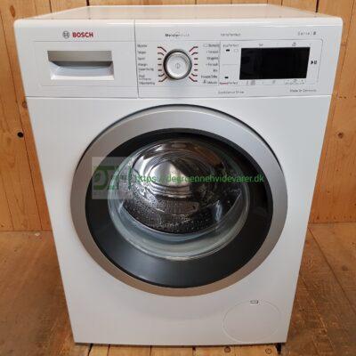 Bosch MeisterStück vaskemaskine WAW32468SN/01 *8kg *1600rpm *A+++-30% * Lydniveau 48 db(A) / 74 db(A)