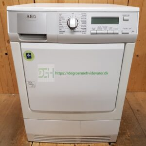 AEG/Electrolux kondens tørretumbler TN95870 *7kg  *A-50%  *Lydniveau 67dB