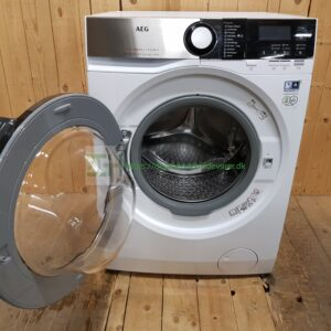 AEG vaskemaskine L7FSB840E *8kg *1400rpm  *Lydniveau 51 db(A) /  75 db(A) *Energiklasse: C  (iflg. den nye energimærkning)